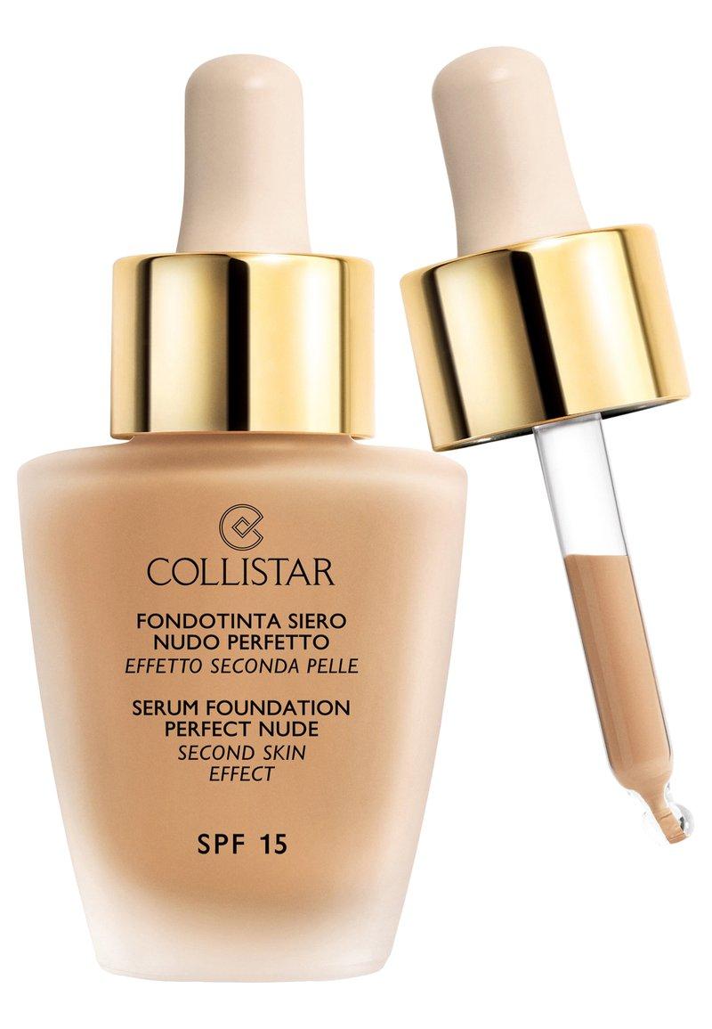 Collistar - SERUM FOUNDATION PERFECT NUDE - Foundation - n.6 sun