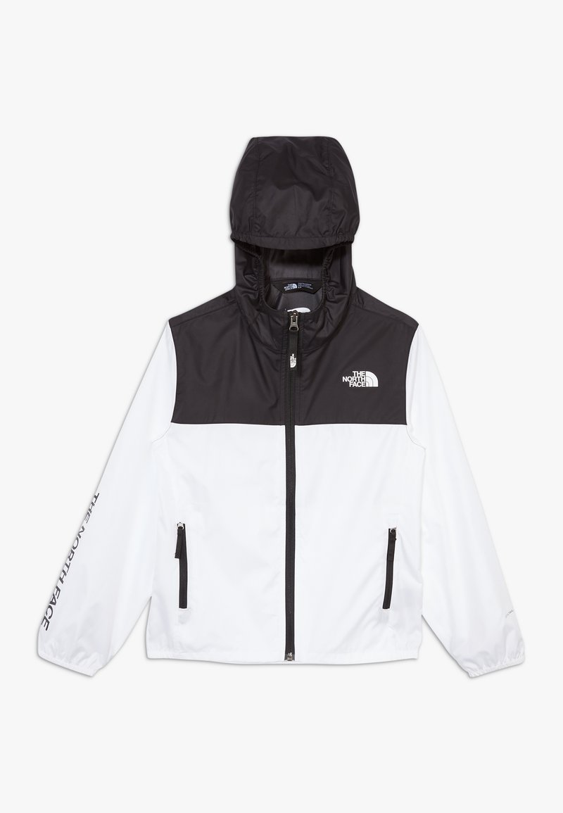 The North Face - YOUTH REACTOR - Windbreakers - white/black