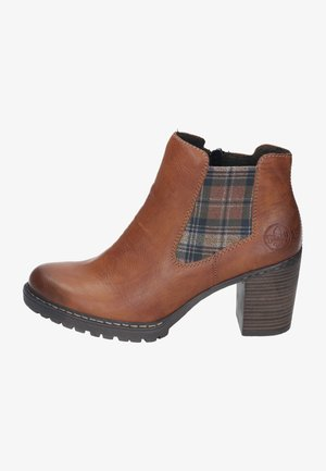 Ankle boots - cayenne/whisky-karo