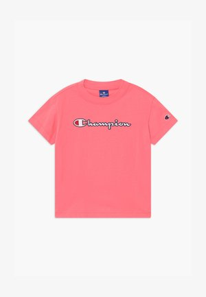 ROCHESTER CHAMPION LOGO CREWNECK  - T-shirt con stampa - pink