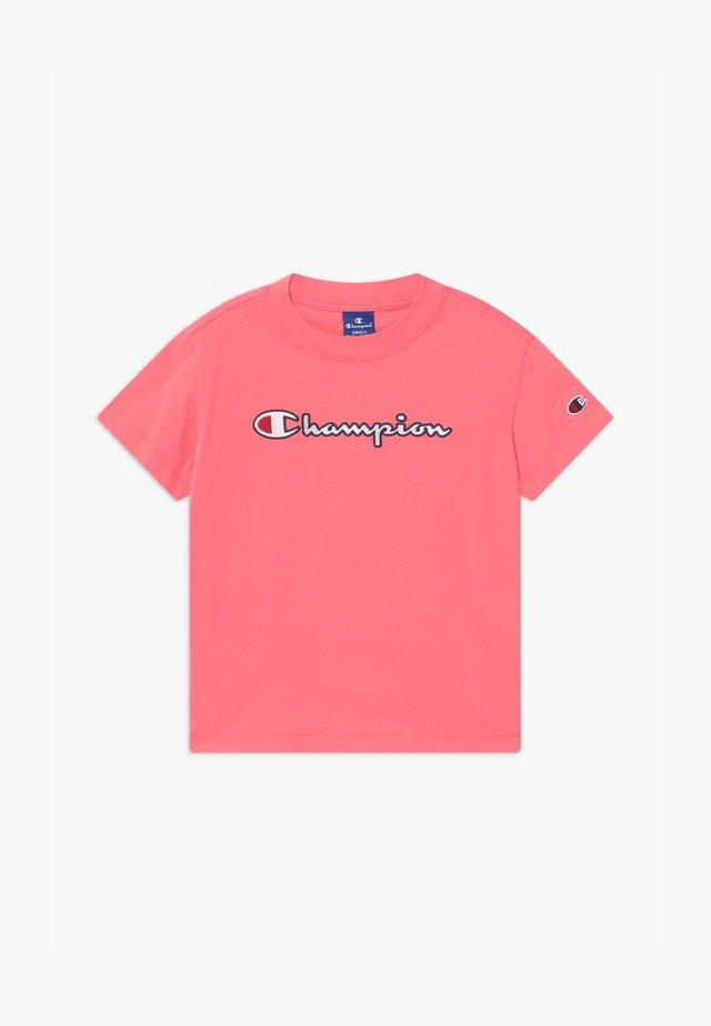 ROCHESTER CHAMPION LOGO CREWNECK  - Print T-shirt - pink