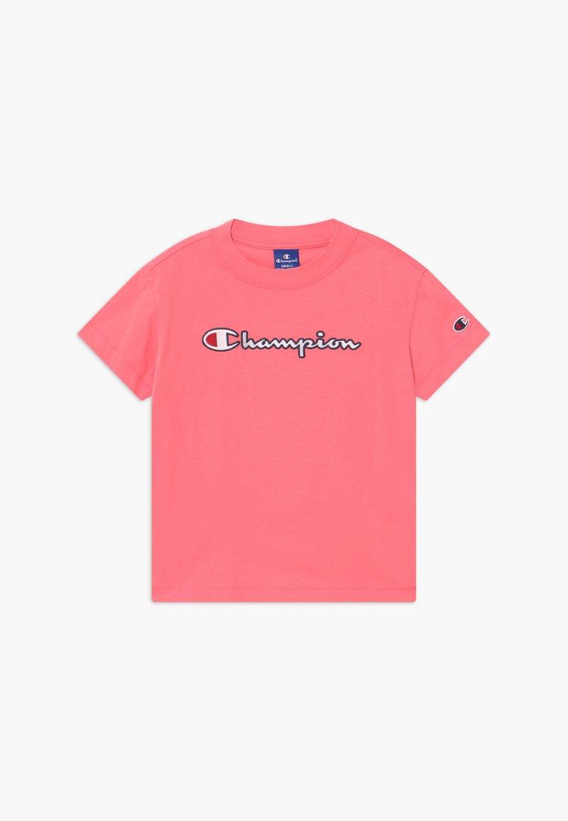 Champion - ROCHESTER CHAMPION LOGO CREWNECK  - Camiseta estampada - pink