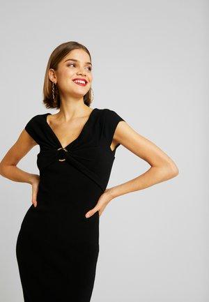 CLAUDETTE RING DRESS - Shift dress - black
