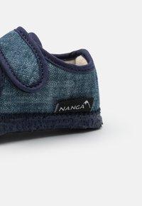 Nanga - OTTILIE UNISEX - Domácí obuv - blue - 5