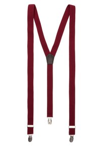 Only & Sons - ONSBOWTIE SUSPENDER SET - Bow tie - bordeaux - 1