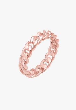 KNOTEN UNENDLICH TWISTED COOL - Bague - roségold