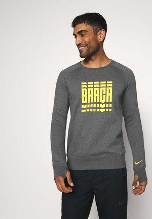FC BARCELONA - Article de supporter - charcoal heather/amarillo