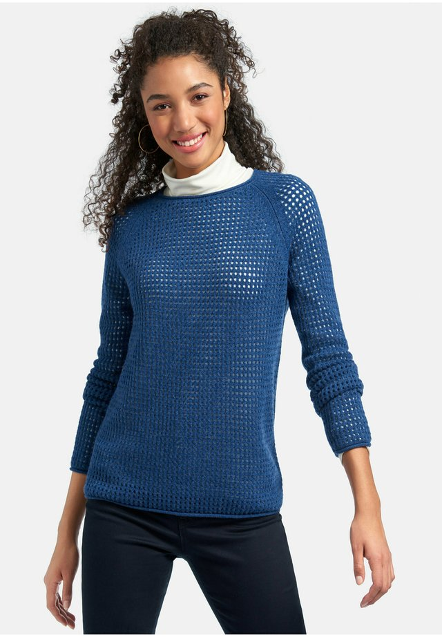 Maglione - jeansblau-melange