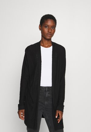 CARDIGAN LONG - Cardigan - deep black