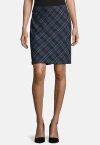 Betty Barclay - Pencil skirt - dark blue/blue - 0