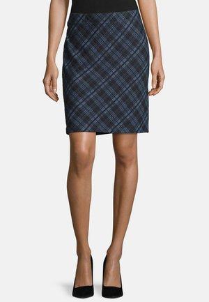 Pencil skirt - dark blue/blue