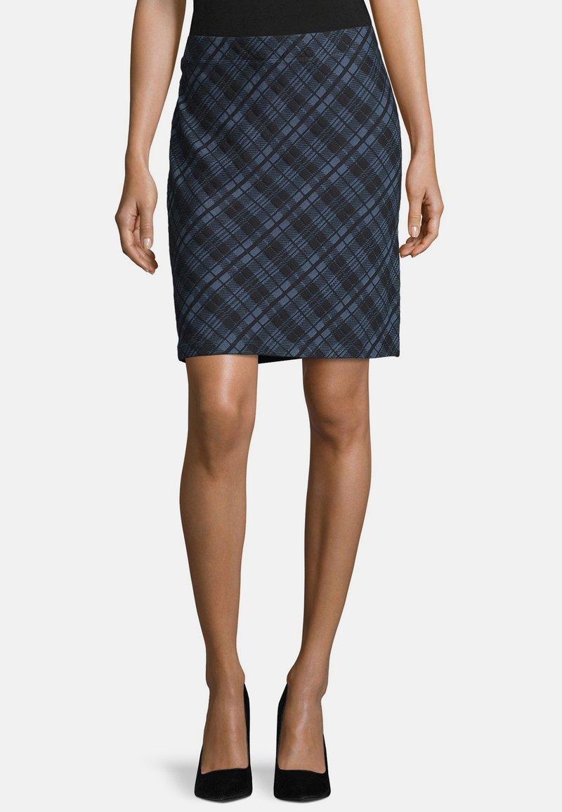 Betty Barclay - Pencil skirt - dark blue/blue