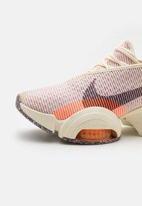 Nike Performance - AIR ZOOM SUPERREP 2 - Sports shoes - coconut milk/black/light arctic pink/total orange/crimson bliss - 5