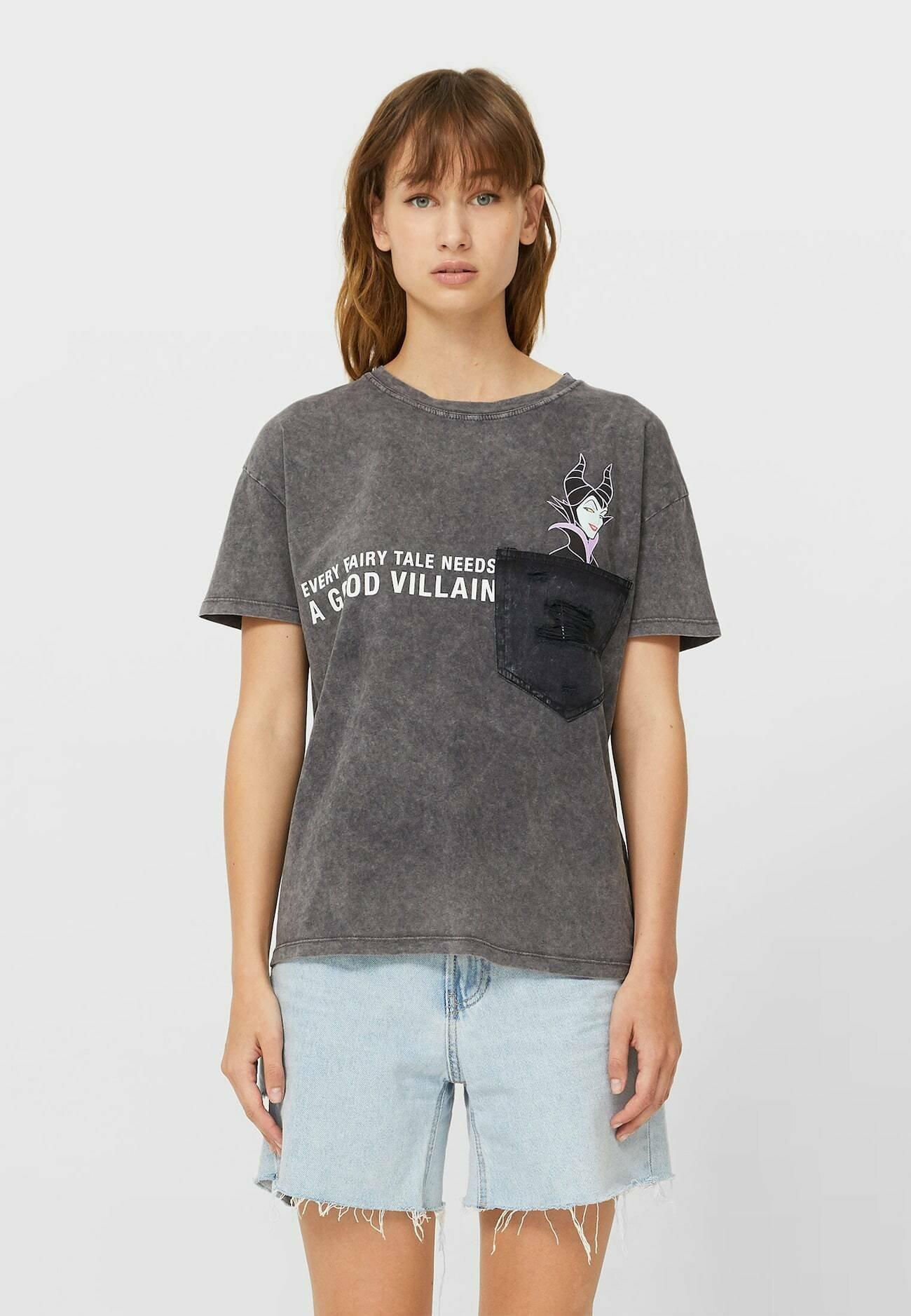 Damen MIT MICKEY UND TASCHE  - T-Shirt print
