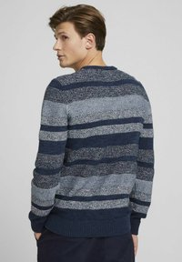 TOM TAILOR DENIM - Jumper - mouline stitch mix pattern - 2