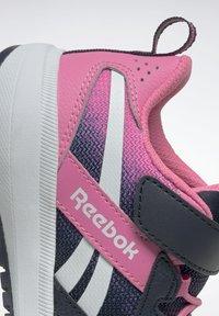 Reebok - ROAD SUPREME 2 ALT SHOES - Neutral running shoes - dark blue/pink - 12