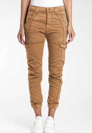 GISELLE  - Cargo trousers - camel