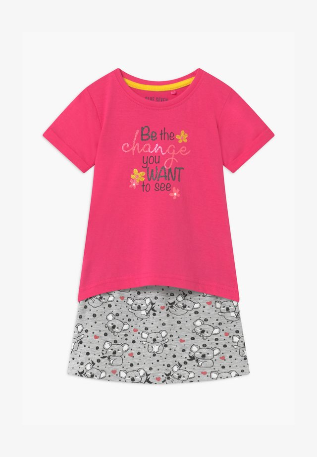SMALL GIRLS KOALA SET - Minigonna - pink