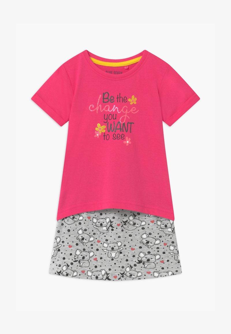 Blue Seven - SMALL GIRLS KOALA SET - Mini skirt - pink