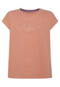 Pepe Jeans - NURIA - Print T-shirt - fresh orange - 0