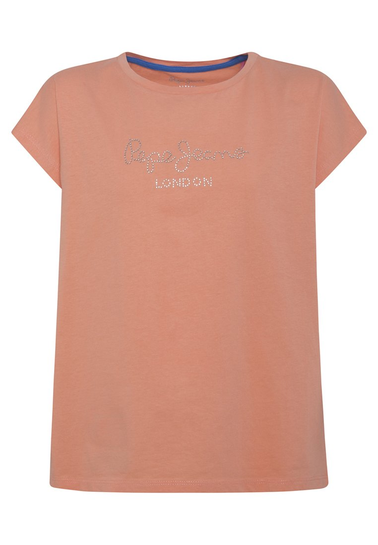 Pepe Jeans - NURIA - Print T-shirt - fresh orange