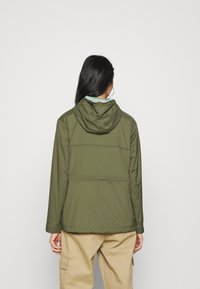 Champion Reverse Weave - JACKET - Windbreaker - olive - 2