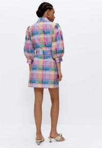 Uterqüe - Shirt dress - pink - 1