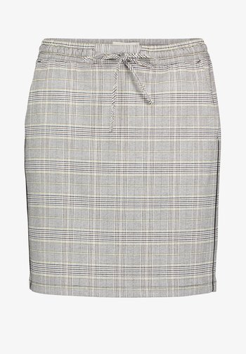 Mini skirt - zwart/groene