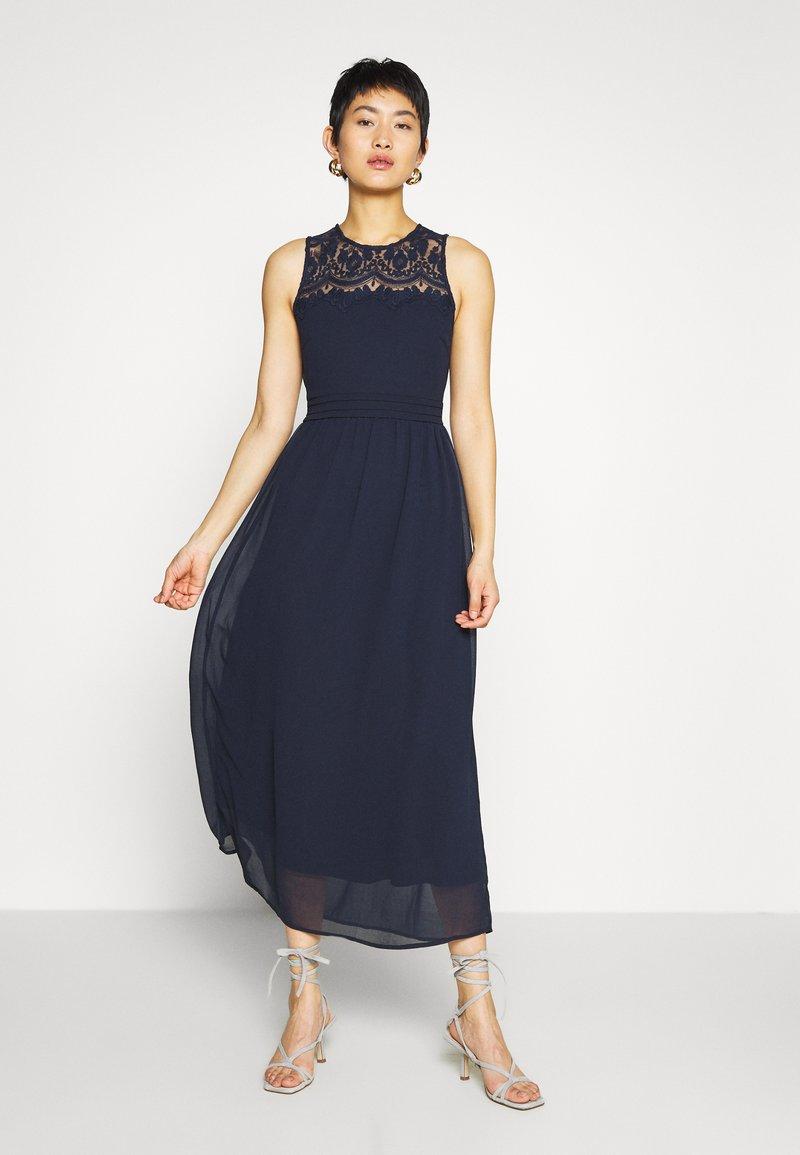 Vero Moda - VMVANESSA DRESS ANCLE - Galajurk - night sky