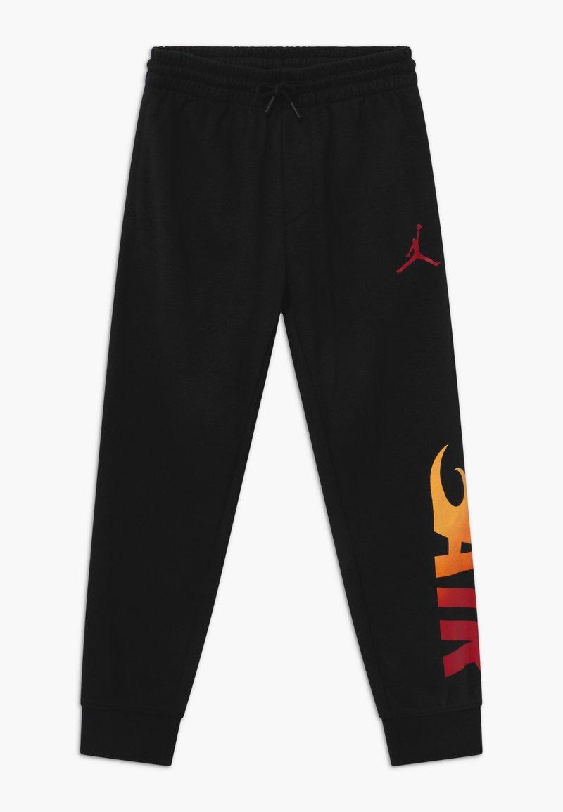 Jordan - JUMPMAN FIRE - Pantaloni sportivi - black