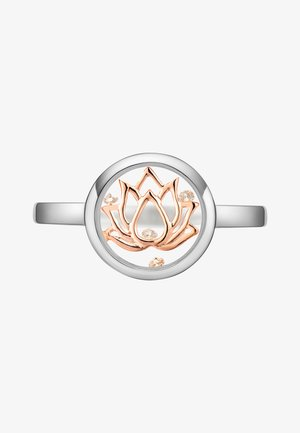 Ring - 14k rose gold plating and rhod