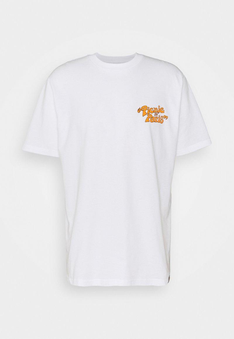 Carhartt WIP - PICNIC IN PARIS - Print T-shirt - white