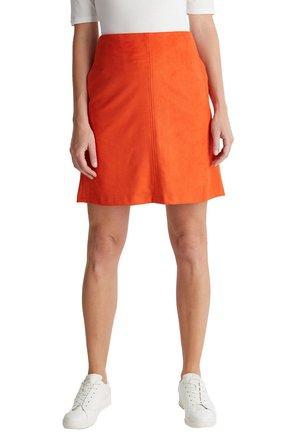 A-line skirt - rust orange