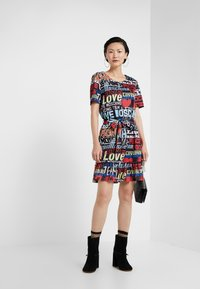Love Moschino - Korte jurk - multi-coloured - 1