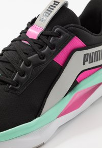 Puma - LQDCELL SHATTER XT GEO - Sports shoes - black/gray violet/luminous pink - 5