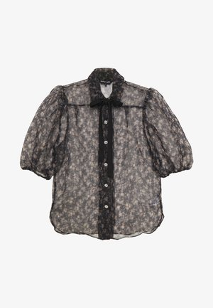 FIRST RODEO PUFF SLEEVE BLOUSE - Bluser - black