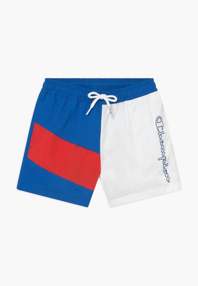 Swimming shorts - blue/red/white