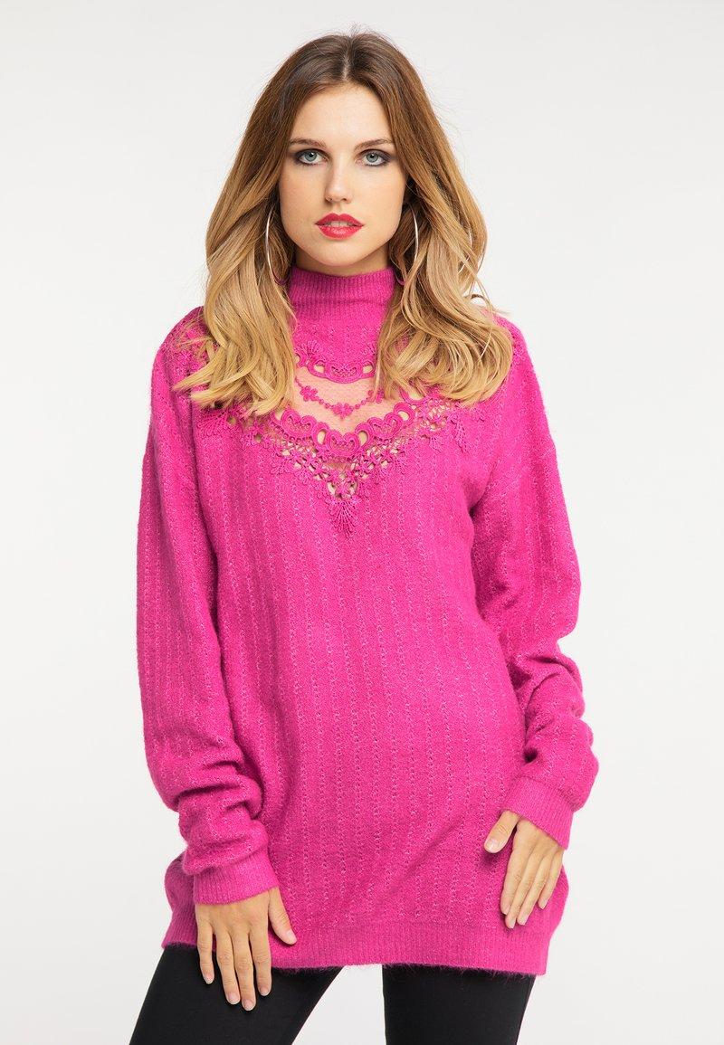 faina - Jumper - pink