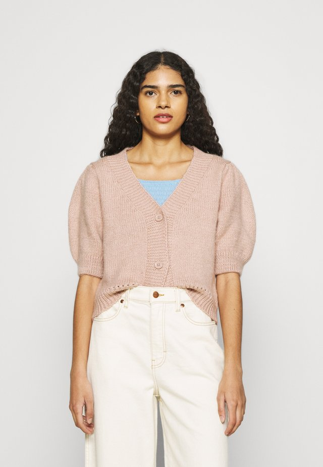 SLEEVESOFT CROP CARDIGAN - Kardigan - blush