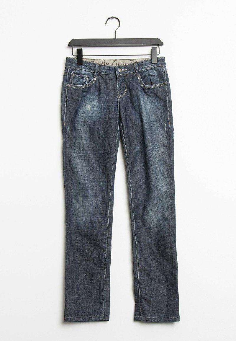 Calvin Klein Jeans - Straight leg jeans - blue