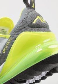Nike Golf - AIR MAX 270 G - Golfové boty - grey fog/smoke grey/white/black - 5