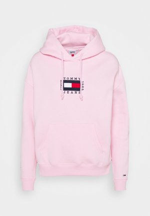BOX FLAG HOODIE - Sweat à capuche - romantic pink