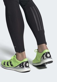 adidas Performance - ADIZERO BOSTON 8 SHOES - Competition running shoes - green - 1