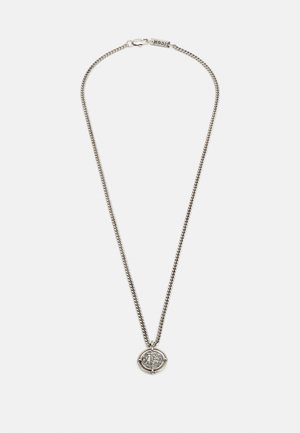 OLD COIN NECKLACE - Ketting - silver-coloured