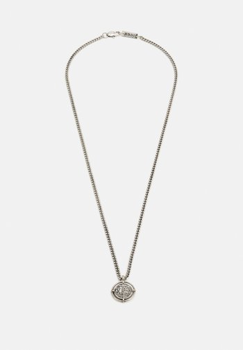 OLD COIN NECKLACE - Halsband - silver-coloured