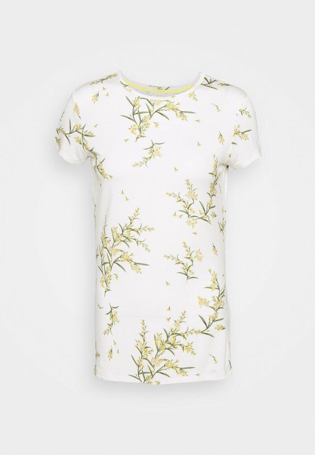 IRENNEE - T-shirt con stampa - white