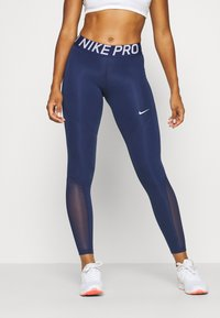 Nike Performance - Tights - binary blue/binary blue/white - 0