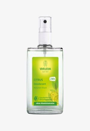 CITRUS DEODORANT - Deodorant - -