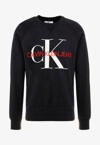 Calvin Klein Jeans - RELAXED MONOGRAM - Sweatshirt - black - 3
