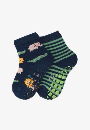 2-PACK SAFARI - Socks - marine